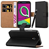 For U5 3G (4047X) Case - Wallet Book [Stand View] Card Case