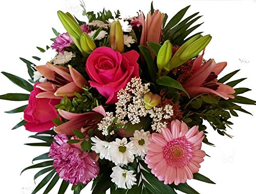 Flora Trans Blumenstrauss verschicken zum Geburtstag -Pink Lady-