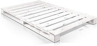 Somier & Cama de palets Individual de 105 cm- Somieres de pallets juveniles para colchones de 105 x 170 & 180 & 190 & 200 ...