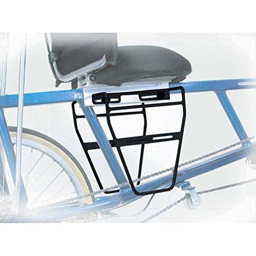Sun Ez-1Sc Bike Rack Mid Pannier Alloy (Black)