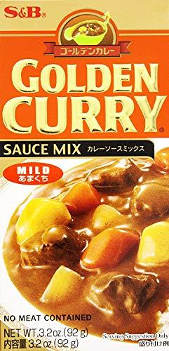 SampB Golden Curry Sauce Mix Mild 32 oz