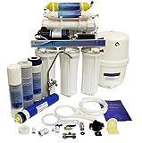 Finerfilters Osmosis inversa doméstica. Unidad RO de 6 etapas con Bomba de Refuerzo de diafragma