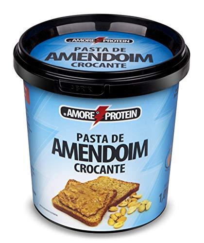 Pasta de amendoim integral c/ Crocante - RB Amore Protein - Pote 1,01kg