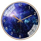 Hirkase Orologio, 12 Pollici di Spazio Galaxy Stella 30 CM Orologio da Parete della Batteria...
