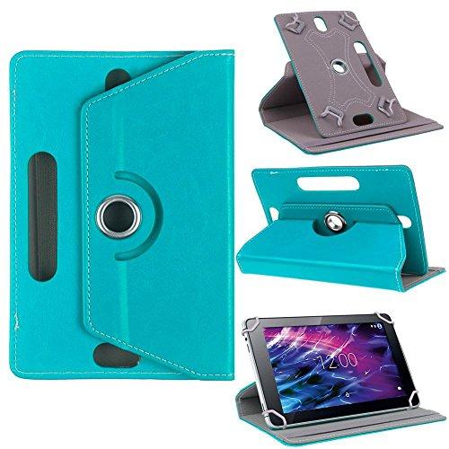 Medion Lifetab X10302 P10400 S10366 P10356 Tablet Tasche Schutzhülle Türkis