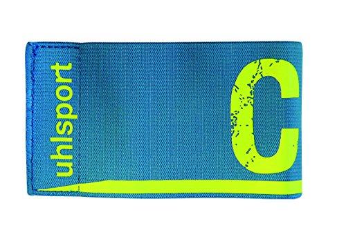 uhlsport 1006750020001 Brazalete de Capitán, Unisex niños, Multicolor (Cyan/Blanco), Talla Única