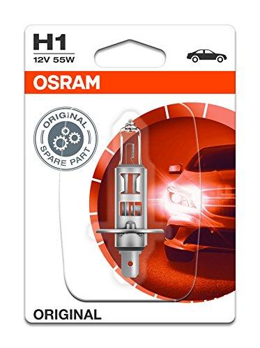 Osram OS64150-01B W3W 2,1X9,5 D 12V 55W 10, Orange, Blister individuel