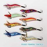 仕掛け タコエギ 3.5号 8種 8本 セット A20takoegi35h8C 釣具 蛸釣り エギング