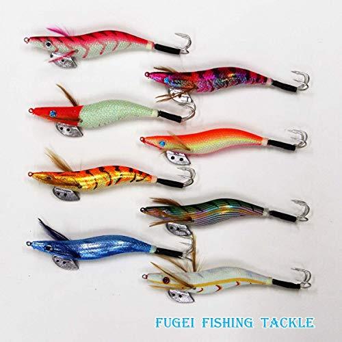 仕掛けタコエギ3.5号8種8本セットA20takoegi35h8C釣具蛸釣りエギング