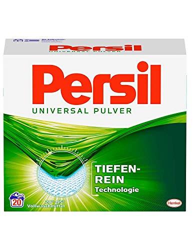 Persil Universal Vollwaschmittel, mit Tiefenrein Technologie, 20 Waschladungen