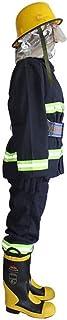 ZTBXQ Juego de Roles Bombero Ropa Protectora Vestir Traje de Batalla Aramida Ropa Traje de protección contra Incendios Cha...
