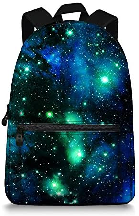 Galaxy print backpack _image2