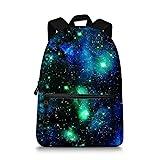 JeremySport Unisex TrendyMax Galaxy Pattern Grade Backpack for Elementary Kids (Galaxy 110)…