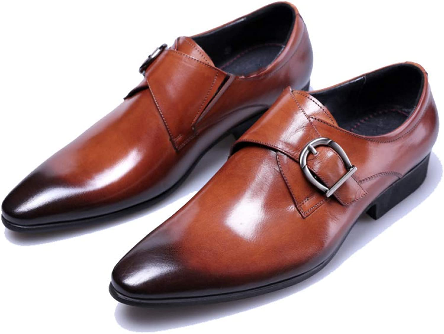 9b8a19477c8c6 NIUMT European Version, Pointed, Work shoes, Business, Business ...