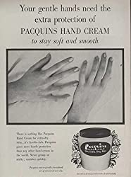 1954 Ad for Pacquin's Hand Cream