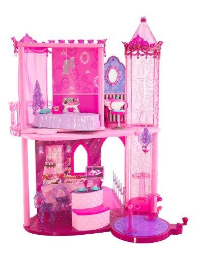 Mattel T3033-0 - Modezauber Barbie Traumschloss