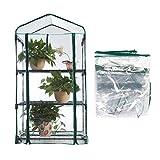 Shiyi Waterproof Mini Greenhouse Cover Foldable Portable PVC...