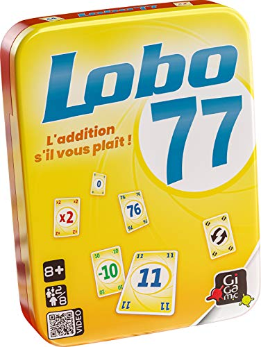 GIGAMIC- Jeu de Cartes-Lobo 77, AMLOBO