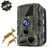 FHDCAM Trail Camera,1080P HD Wildlife Game Hunting Cam with Motion Activated Night Vision, 120°...