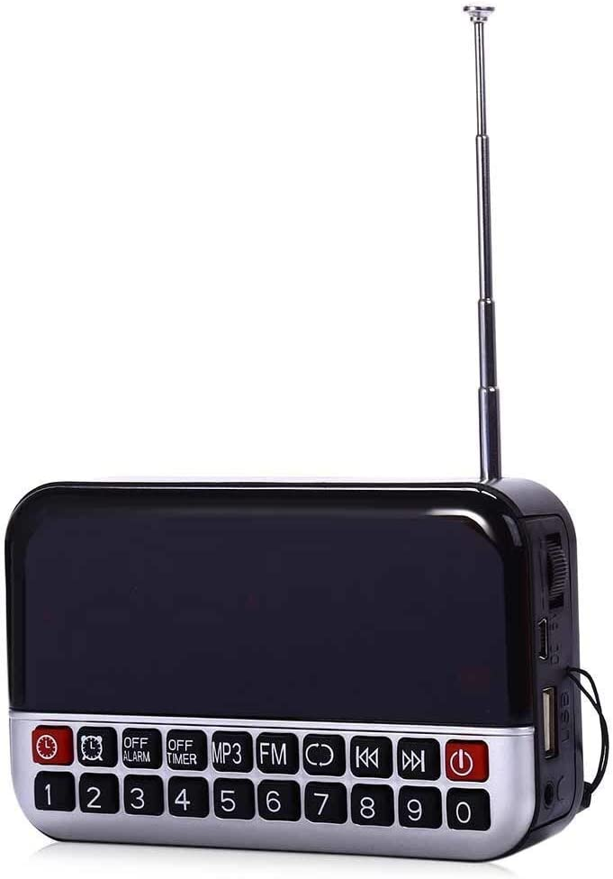 Mini Radio Latest item Sale Special Price High-definition Lcd Speaker Multi-function Di Screen