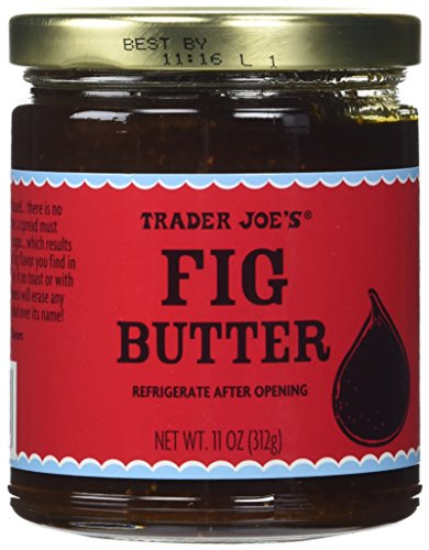 Trader Joes Fig Fruit Butter 11 Oz / 312 G Delicious on Toast or with Cheese