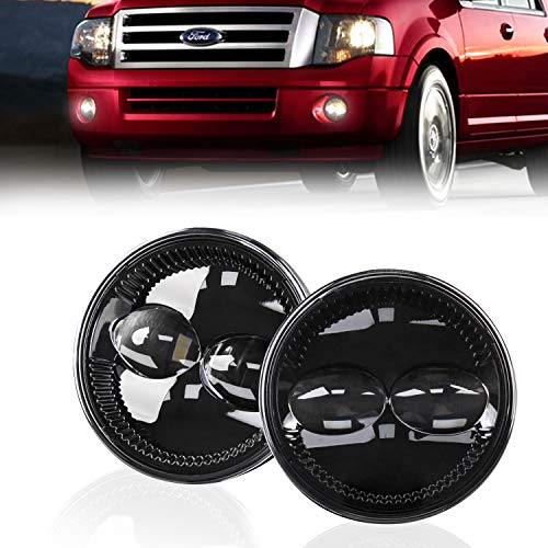 FNGET Ford F150 Fog Lights 4.5'' Compatible with Ford 2007-2015 Expedition 2008-2011 Ranger 2009-2014 F150 Driving Lights LED Fog Lamps 2PCS
