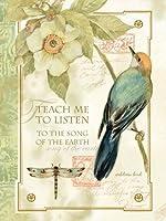 Lang Song of the Earthアドレス帳、6.5X 8.5X 1.75インチ、1本( 1013158)