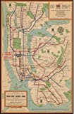 Map of The New York City Subway System New York|New York (State)|New York|New York|New York (State)|Subways