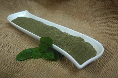 hojas de menta en polvo 100 g