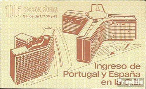 Prophila Collection Spagna Michel.-No..: MH1 (Completa Edizione) 1986 Adesione a Comunità Europea (Francobolli per i Collezionisti)