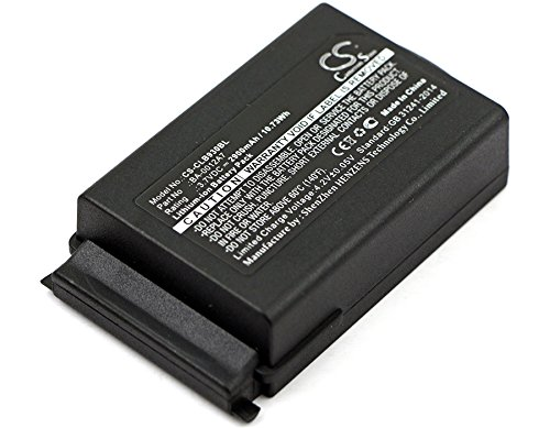 Find Bargain HSDZ Battery Suitable for CipherLAB 9300, 9400, 9600, CPT 9300, CPT 9400, CPT 9600 2900...