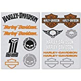 Harley Davidson Kit di 17 Adesivi #lowride #harleydavidson
