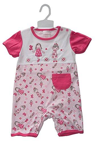 Beau Bébé - Combinaison - Bébé (fille) 0 à 24 mois Pink&White 3-6months