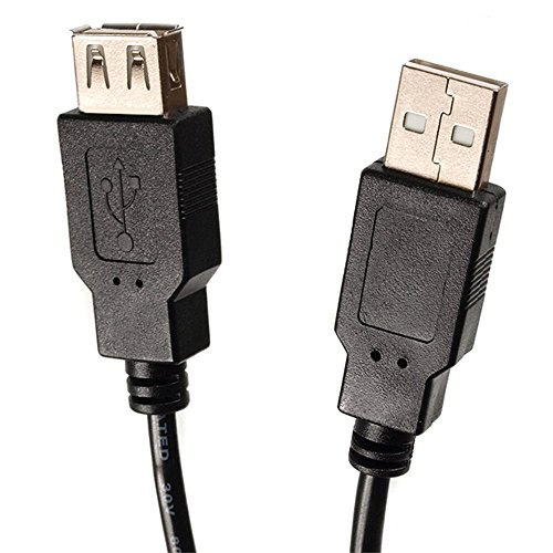 Maclean MCTV-744 USB-Verlängerungskabel USB-Kabelanschluss 2.0 USB-Anschluss Verlängerungs - Buchse/Stecker (3m)