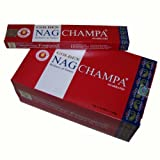 Bastoncini d'incenso 180g Golden Nag Champa Profumi