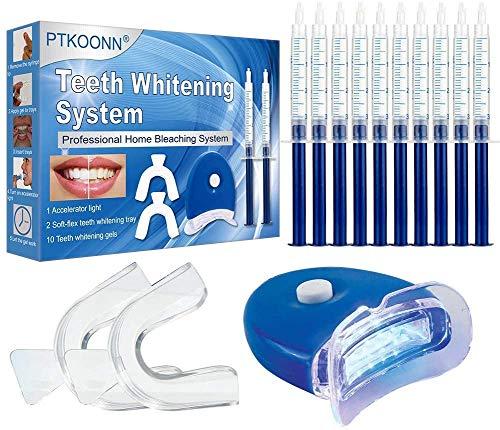 Kit de blanqueamiento dental,Blanqueador de Dientes,Kit de Blanqueamiento,Teeth Whitening Kit,Contra Dientes Amarillos,Manchas de Humo,Dientes Negros