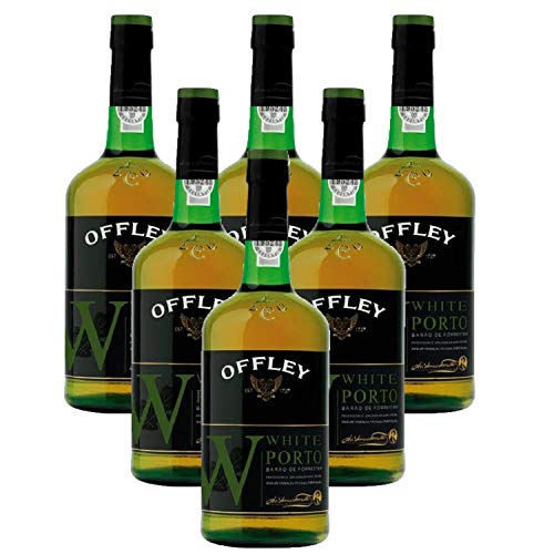 Vino de Oporto Offley Blanco - Vino Fortificado- 6 Botellas