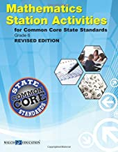 Common Core State Standards Station Activities Gr 6, Revised Edition (Ccss Station Activities for Middle School Series, Revised Ed)