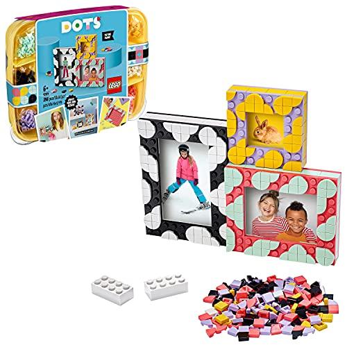 LEGO Dots 41914 Marcos de Fotos Creativos Caja de Manualidades para Niños y Niñas de 6...
