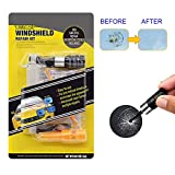 Automotive Windshield DIY Repair Kit, 2021 Newest Design, with Pressure Syringes, Fast Repair for Windshield Chips, Cracks, Bulls-Eye, Star-Shaped and Half-Moon Cracks