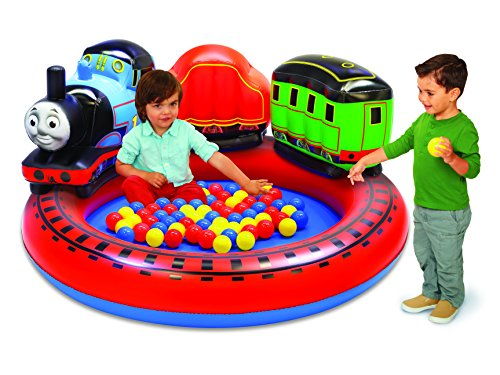 Thomas & Friends 63714 New Spring 2018 Playland with 50 Soft-Flex Balls Inflatable Pit