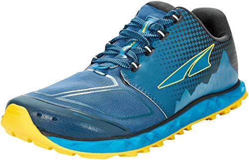 ALTRA Men's AL0A4VQB Superior 4.5 Trail Running Shoe, Blue/Yellow - 10 M US