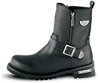Milwaukee Motorcycle Clothing Company Mens Afterburner Boots (Black, Size 13)