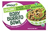 Sprout Foods Organic Toddler Meal Baby Burrito Bowl, 5 Oz