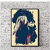 sechars Albus Dumbledore Poster Film Leinwanddrucke Home
