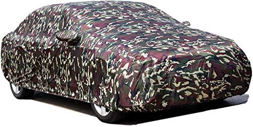 Mmmp Sedán de tamaño mediano cubierta del coche impermeable y transpirable en Avenida aparcamiento cubierto y al aire libre, compatible con la cubierta del coche de protección UV viento y el polvo, su