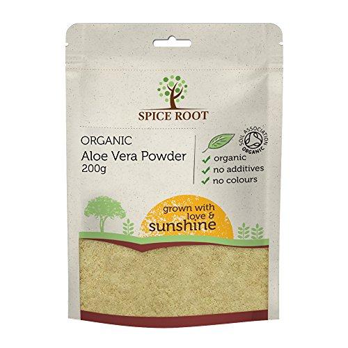 Bio Aloe Vera Pulver 200g - Premium Qualität, Bio-zertifiziert