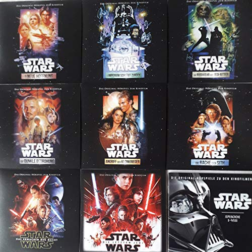 original hörspiele STAR WARS episode l - Vlll BOX: 8 cds + booklet
