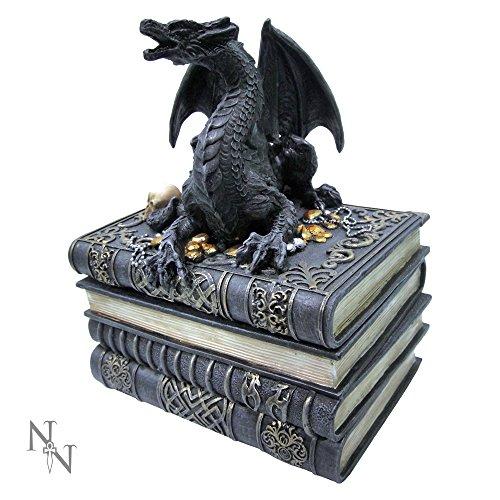 Nemesis Now Secrets of The Dragon Boîte Noir 19 cm