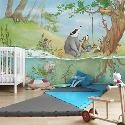 Apalis Kindertapeten Vliestapeten Ein Fahrstuhl für Elsa Fototapete Breit | Vlies Tapete Wandtapete Wandbild Foto 3D Fototapete für Schlafzimmer Wohnzimmer Küche | mehrfarbig, 94607